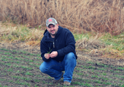 Ohio Field Leader Farm Conservation Nate Douridas