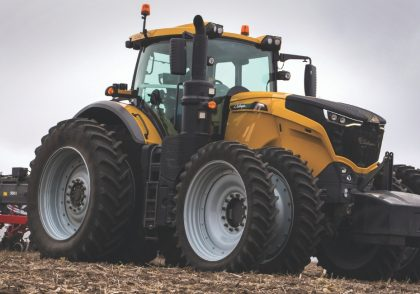 Field Leader Explores Ag Equipment Innovations Challenger 1000 Series Tractor